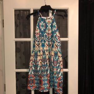 Speechless medium multi-color dress